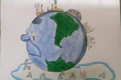 Exploring water pollution through Art workshop 01