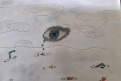 Exploring water pollution through Art workshop 03