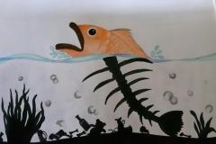Exploring water pollution through Art workshop 05