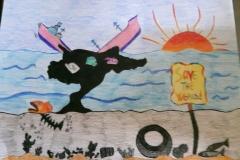 Exploring water pollution through Art workshop 08