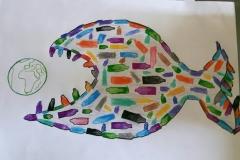 Exploring water pollution through Art workshop 13