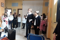 03Saluto da parte della coordinatrice Polacca e la referente in Italia