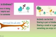 Kindness paper poster