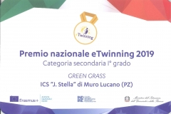 Premio nazionale eTwinning 2019 - ISTITUTO
